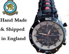 RAFP Royal Air Force Police Paracord Watch