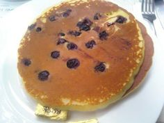 Did you know January 28th is National Blueberry Pancake Day? You know how we celebrated ;)