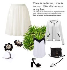 """set 33"" by nudzi-ded ❤ liked on Polyvore featuring Uniqlo, Kate Spade, Pieces and Miu Miu"