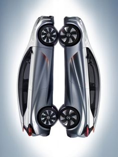 """#Renault presents #EOLAB, a new prototype which explores ways to deliver ultra-low fuel consumption. It boasts NEDC combined cycle consumption of 1 litre/100km, equivalent to 22g of CO2/km. To achieve such low figures, the designers focused their efforts on three main areas: minimising weight, refining aerodynamics and using """"Z.E. Hybrid"""" technology for all, a brand new initiative which permits zero emissions motoring during everyday use.  (c) Renault #Design - Droits réservés"""