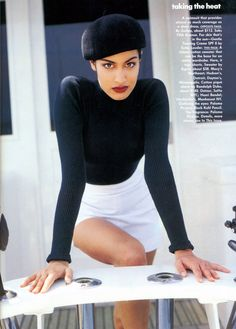 Back to the 90s (80s90sredux: 'Taking The Heat' from………….Vogue July...)