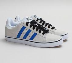 9ec5004d2c6f adidas Skateboarding Campus Vulc - Running White   Bluebird - Black