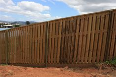 contemporary fence sloping - Google Search