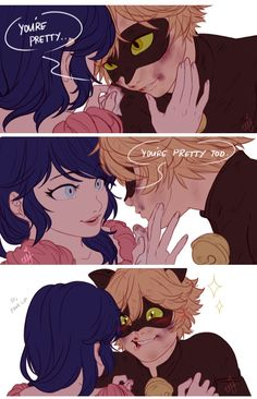(Miraculous: Tales of Ladybug and Cat Noir) Marinette/Cat Noir