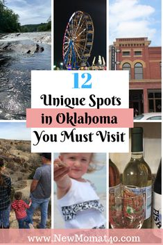 Unique Spots in Oklahoma You Must Visit. This post reveals uniqe things to do in Oklahoma on you next vacation. Travel with family or a couples weekend getaway. Beatuiful desitinations, cabins, bed and breakfasts, and state parks. Travel With Kids, Family Travel, Family Trips, Alabaster Caverns, Travel Photographie, Wichita Mountains, Travel Oklahoma, Tulsa Oklahoma, Oklahoma City