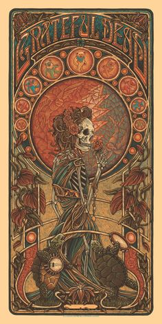 Grateful Dead 2020 (Variant Edition) at Posterogs Grateful Dead Wallpaper, Grateful Dead Poster, Rock Posters, Band Posters, Film Posters, Kunst Poster, Hippie Art, Psychedelic Art, Aesthetic Art