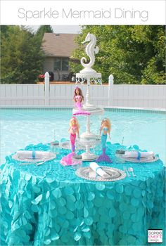 | Sparkle Mermaid Party – Part 2 | http://soiree-eventdesign.com