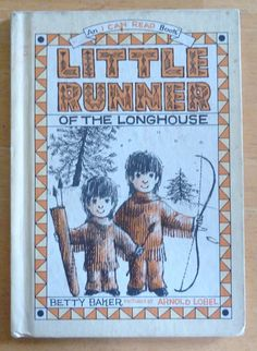 Vintage Kids Book  Little Runner of the Longhouse by vintagememory, $7.00
