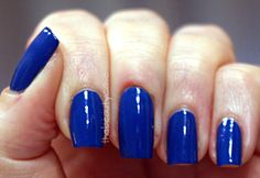 Blue Nubar Royal Blue
