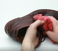 Un produit maison qui nettoie le cuir, le ravive et en prend soin - Astuces de grand mère