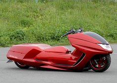 Yamaha Maxam by The Cool Ride