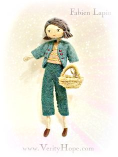 Modern grecon style doll VERITY HOPE