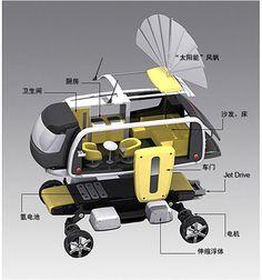 Pathfinder, future vehicle, future car, boat, watercraft, solar powered, alternative energy, hybrid vehicle