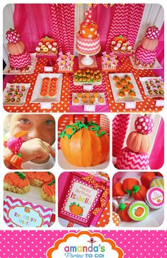 Pumpkin Patch Party Printable Fall Birthday by AmandasPartiesToGo Pumpkin 1st Birthdays, Pumpkin Birthday Parties, Halloween Birthday, Birthday Fun, First Birthday Parties, Birthday Party Themes, First Birthdays, Birthday Ideas, Girl Parties