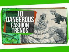 Video: 10 gevaarlijke modetrends uit de geschiedenis - Mode - KnackWeekend.be