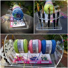 Crochet Caddy holds Hooks, Working yarn and accessories Crochet Classes, Crochet Projects, Cape Town, Hooks, Accessories, Image, Wall Hooks, Crocheting, Jewelry Accessories