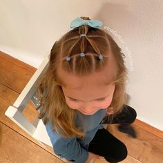 Cute Hairstyles For Little Girls Long Toddler Hair Dos, Easy Toddler Hairstyles, Easy Little Girl Hairstyles, Cute Girls Hairstyles, Easy Hairstyles, Hairdos, Girl Hair Dos, Instagram Hairstyles, Afro