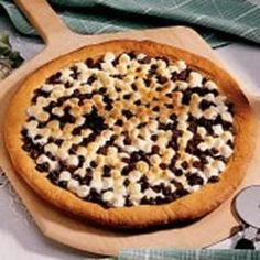 Chocolate Peanut Butter Pizza - Allrecipes.com
