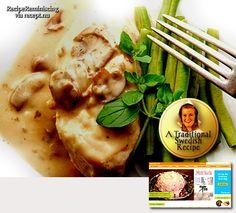 Roast Pork Tenderloin in Mustard Cream Sauce | Recipe Reminiscing