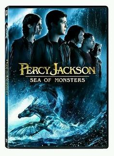 PERCY JACKSON: SEA OF MONSTERS dvd NEW