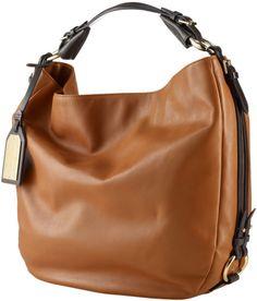 Lauren By Ralph Lauren Harbridge Leather Hobo Bag