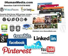 Social Media Marketing, Internet Advertising & MOBILE Apps – Web Designs. Get Started Just $79.95 Call 615-678-9092 (Over 25-years Experience) http://www.ihumanmedia.com/79-95-internet-marketing/      A leading Nashville Tennessee web development firm @ iHumanMedia.com