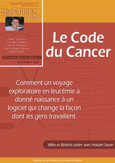 Couverture ebook gratuit Le Code du Cancer Mike Bettina Jetter