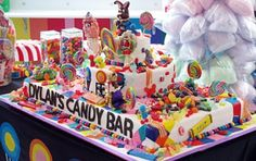 Cake boss cake for Dylan Lauren ( Ralph Lauren's daughter) and her candy store in NY