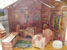 Baby-Born-Miniworld-Haus-Winterhaus