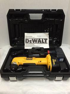 """DeWALT Right Angle Drill DW960 18V 3/8"""" Cordless 10mm New in Tool Box #DeWALT"""