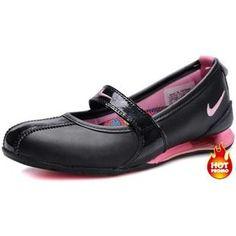 Nike Shox Ladies Dress Shoes Black Red | Women Nike Shox Dress ...