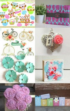 Lovely Spring by Melanie on Etsy--Pinned with TreasuryPin.com