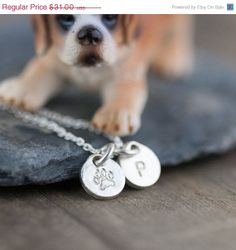 CYBER MONDAY Etsy Sale  Personalized Dog Lovers by burnish on Etsy, $27.90
