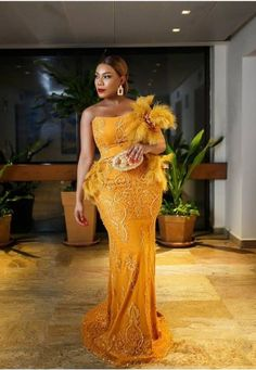 40 Gorgeous Wedding Dress Styles For Your African Traditional Wedding - The Glossychic African Lace Dresses, African Wedding Dress, Latest African Fashion Dresses, African Print Fashion, African Clothes, African Prints, African Traditional Wedding Dress, Traditional Wedding Attire, Gorgeous Wedding Dress