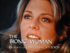 ...e naturalemente leii...La donna bionica!