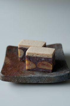 Japanese sweets / こぼれ栗(kobore guri)