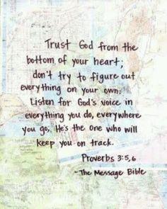 .trust God