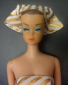 Vintage Barbie Doll -my older sister had this one, she came with 3 wigs and a wig stand