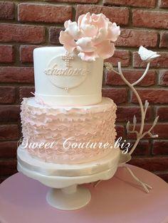 Gâteau baptême Petite Charlotte