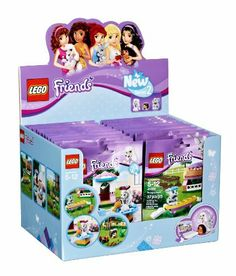 LEGO Friends Animals Series 2 (Box of 24) by LEGO - party bags for girls
