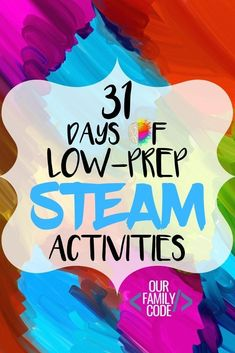 Steam Activities, Fun Activities For Kids, Math Activities, Summer School Activities, Camping Activities, Therapy Activities, Stem Projects, Science Projects, Projects For Kids
