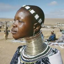 African Neck rings -cruel custom, but who am I to judge another cultures customs so ill just be glad we dnt do that here.