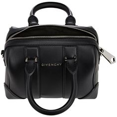 Givenchy Lucrezia Micro-Satchel (1,565,455 KRW) ❤ liked on Polyvore featuring bags, handbags, givenchy, purses, genuine leather purse, givenchy purse, genuine leather satchel handbags, satchel handbags and leather handbags