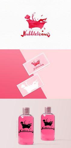 Branding for sale! www.One-Giraphe.com #logo #logodesign #graphic #graphicdesign #cosmetics #cosmetic #packaging #pink #bubble #art #watercolor #feminine #girly Eye Photography, Tumblr Photography, Brand Identity Design, Logo Design, Graphic Design, Breakfast Food List, Breakfast Recipes, Cosmetic Packaging, Salon Design