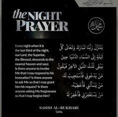 Power of the night prayer