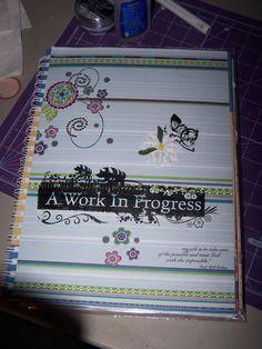Art Journal/Smash book Cover - Scrapbook.com