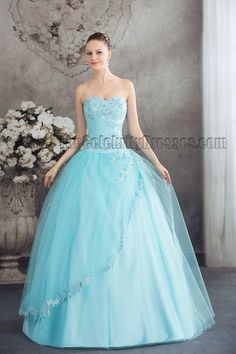 _blue_strapless_ball_gown_beaded_quinceanera_dresses_2_