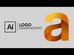 How To Create a Trendy Folded Logo Design in Adobe Illustrator Adobe Illustrator Tutorials, Photoshop Illustrator, Vintage Typography, Typography Logo, Vintage Logos, Retro Logos, Gradient Logo, Art Graphique, Tutorials