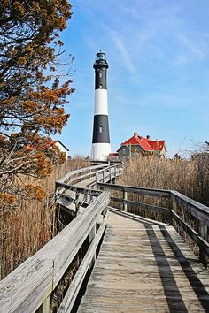 A great place to vacation? *Fire Island Lighthouse