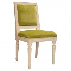 Worlds Away Scarsdale Chair - Lime Green